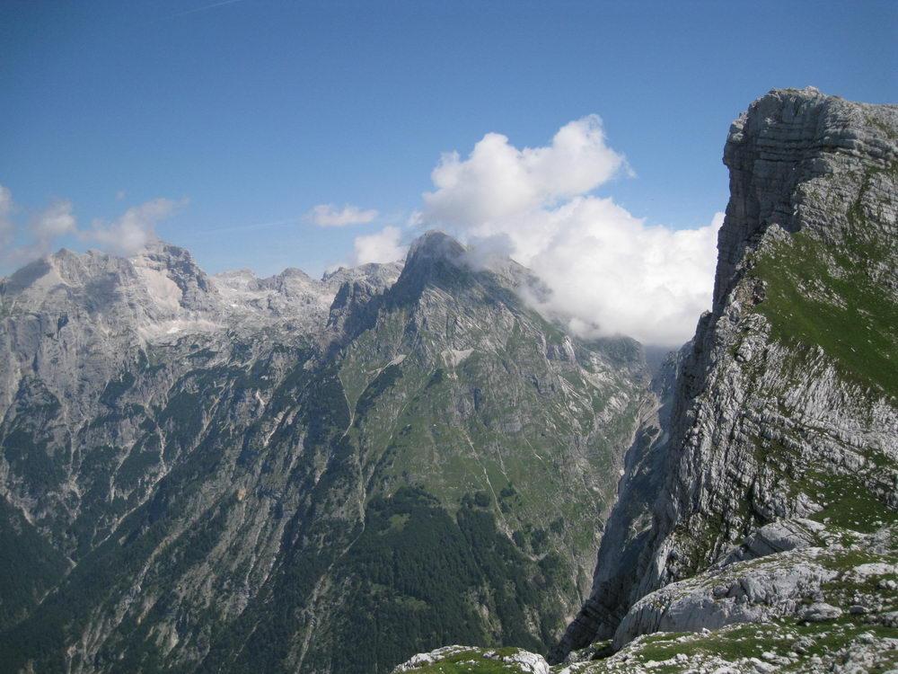 Cliff (Triglav Nat. Park, Slovenia)
