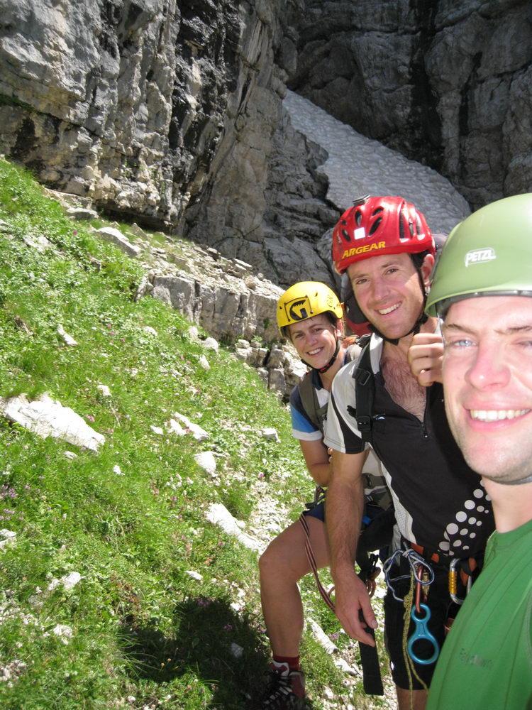Climbers (Triglav Nat. Park, Slovenia)