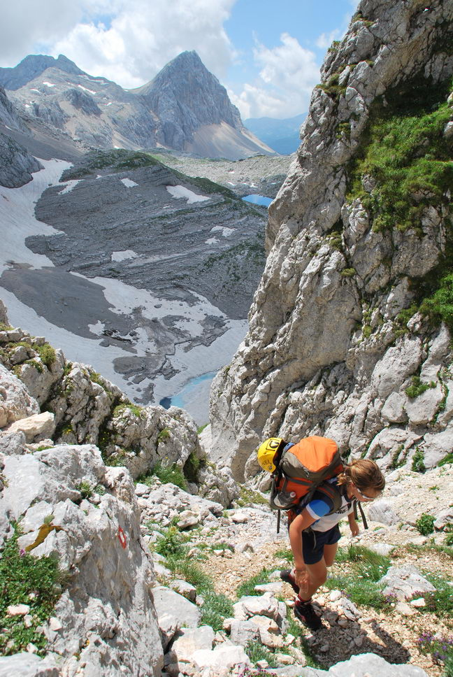 Climbing 3 (Triglav Nat. Park, Slovenia)