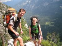 Chris and Cris (Triglav Nat. Park, Slovenia)