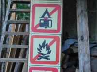 No camping at biv (Triglav Nat. Park, Slovenia)