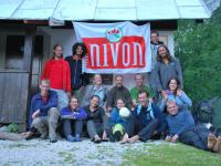 People at biv 2 (Triglav Nat. Park, Slovenia)
