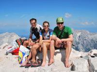 The three climbers (Triglav Nat. Park, Slovenia)