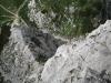 View down to saddle again (Triglav Nat. Park, Slovenia)