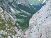 View towards biv (Triglav Nat. Park, Slovenia)