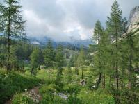 View towards hut (Triglav NP, Slovenia)