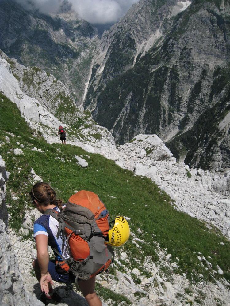 Trekking (Triglav Nat. Park, Slovenia)