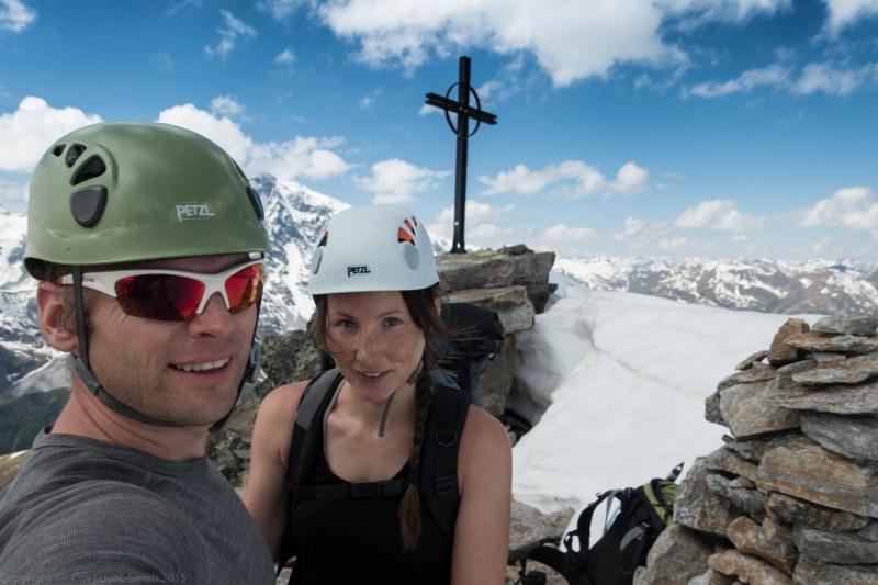 At the summit 2 (Düsseldorfer Hütte Tramp)