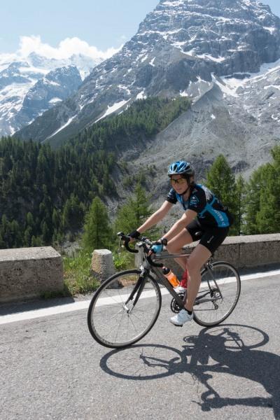 Leonie (Ride up Stelvio Pass, Italy 2015)