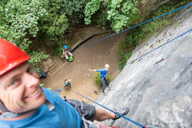 Climbing at Paines