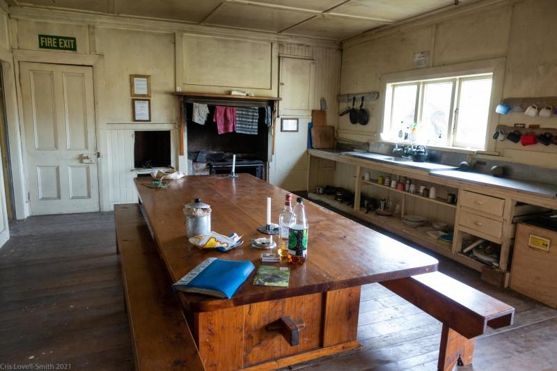 Inside the hut (Kahurangi Point Jan 2021)