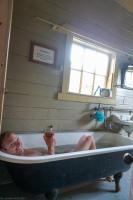Taking a bath (Kahurangi Point Jan 2021)