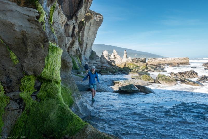 Walking along the coast (Kahurangi Point Jan 2021)