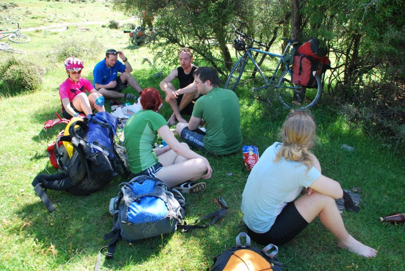 Having a break by Loch Katrine (30th Birthday Bash)