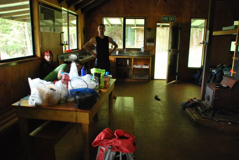 Inside Hurunui Hut (30th Birthday Bash)