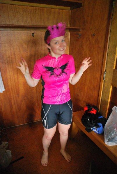 Katie at Hurunui Hut (30th Birthday Bash)