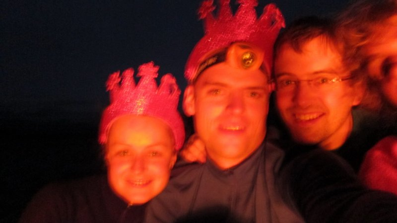 Katie, Cris, Simon, and Gina (30th Birthday Bash)