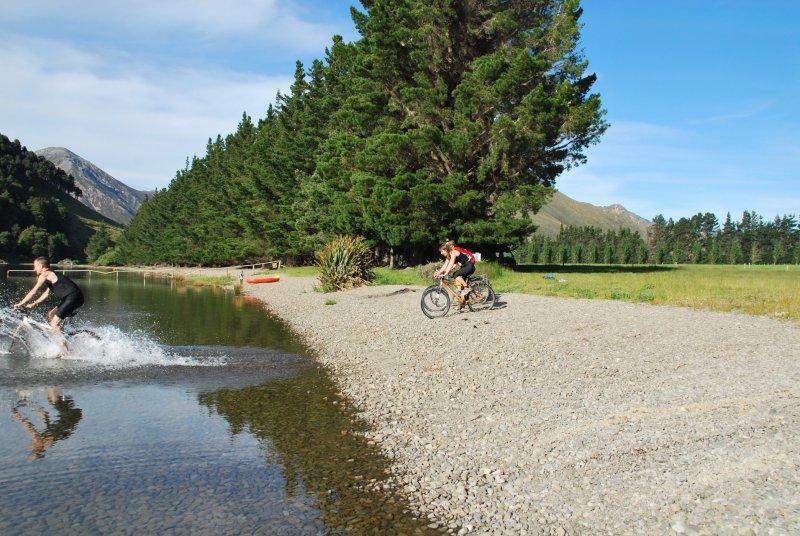 Riding into Lake Taylor (30th Birthday Bash)