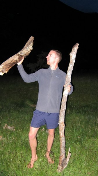 William with wood (30th Birthday Bash)