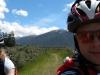 Gina and Cris riding back to Hurunui Hut (30th Birthday Bash)
