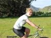 Gina riding by Lake Taylor (30th Birthday Bash)