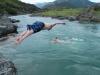 Simon dives into Jollie Brook (30th Birthday Bash)
