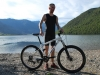 William beside Lake Taylor (30th Birthday Bash)