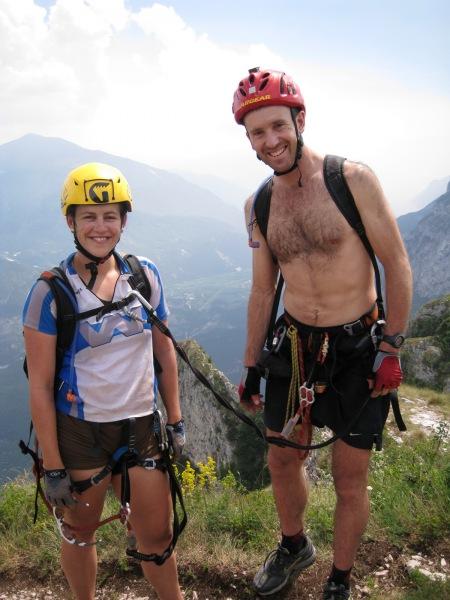 Chris claims his Emily (Lago di Garda, Italy)
