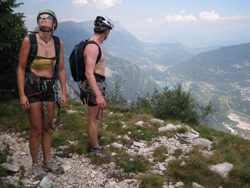 Nearing the top (Lago di Garda, Italy)