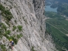 Climbing the cliffs (Lago di Garda, Italy)