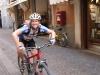 Emily on her bike (Lago di Garda)