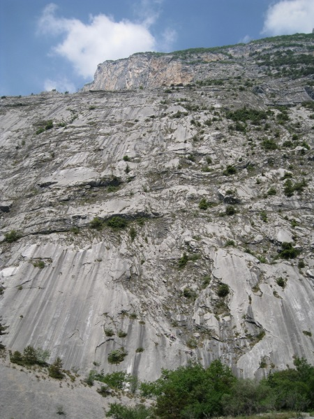 Awesome rock wall (Lago di Garda)