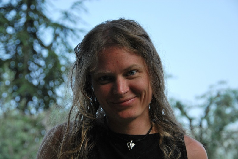 Frauke smiling (Lago di Garda)