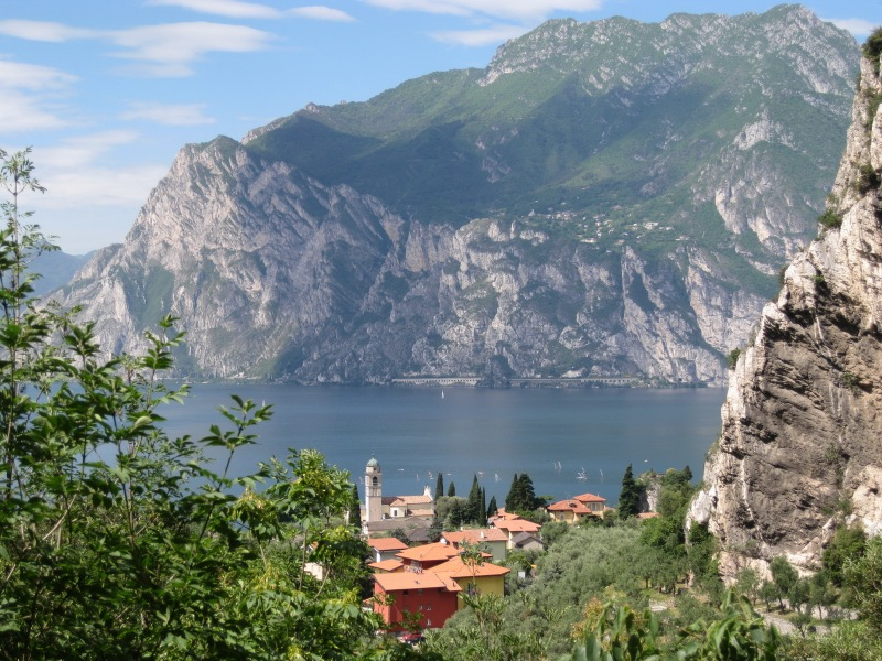 View across the lake (Lago di Garda)