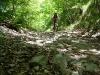 Frauke on another trail (Lago di Garda)