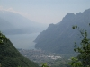 View of lake from the east side (Lago di Garda)