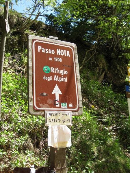 Passo Nota (Lago di Garda, Italy)