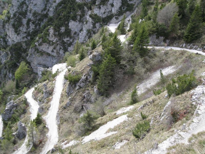 The winding road (Lago di Garda, Italy)