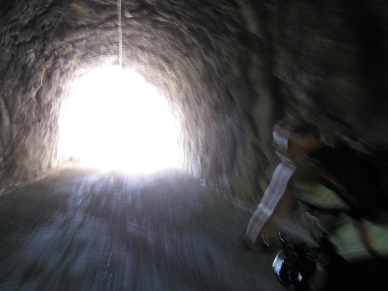 Through a tunnel (Lago di Garda, Italy)