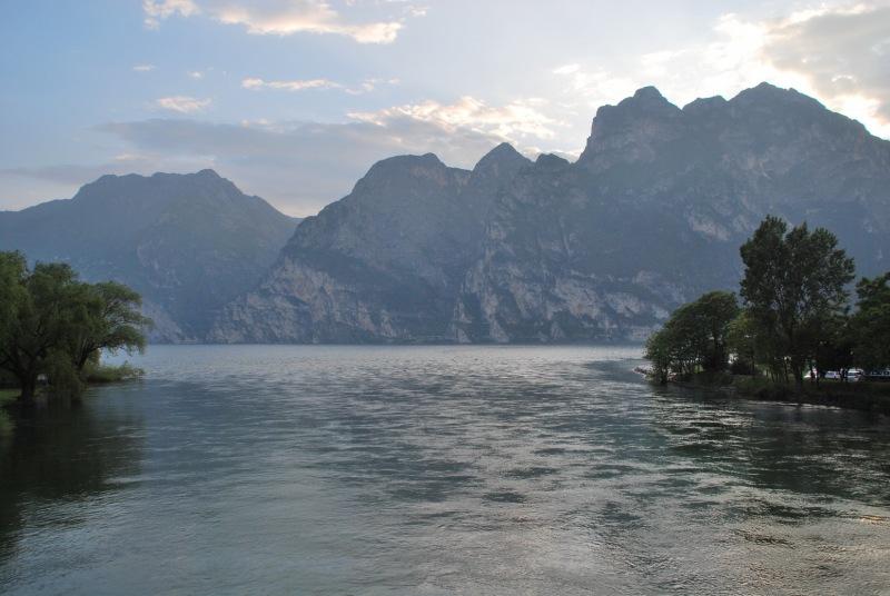 View from Riva (Lago di Garda, Italy)