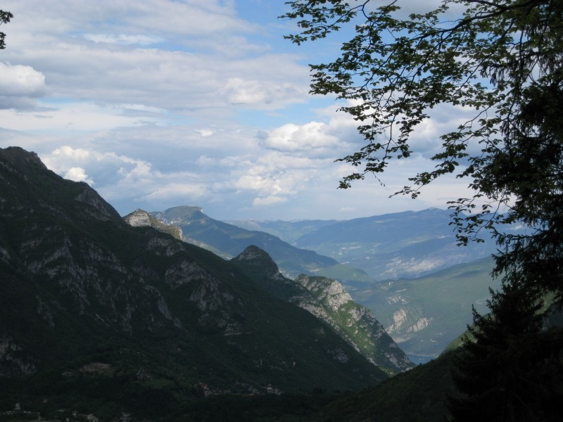View of hills (Lago di Garda, Italy)