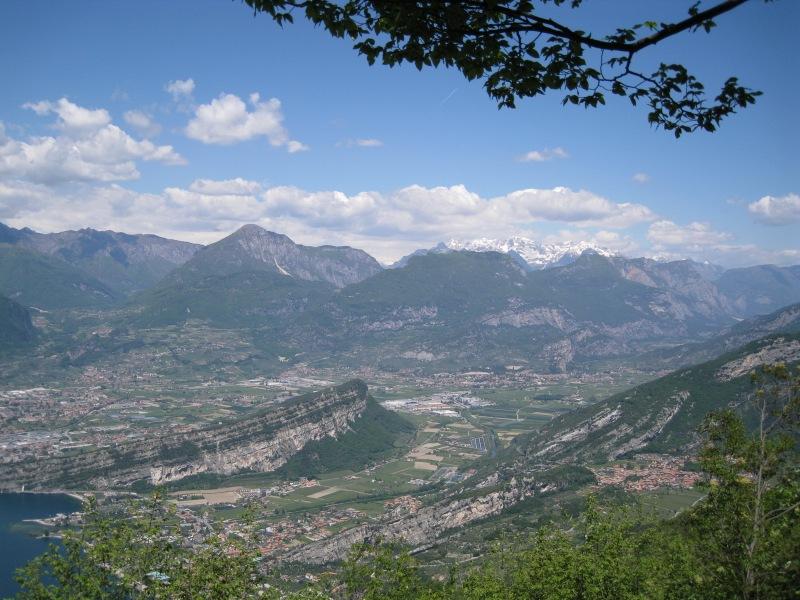 View towards Arco (Lago di Garda, Italy)
