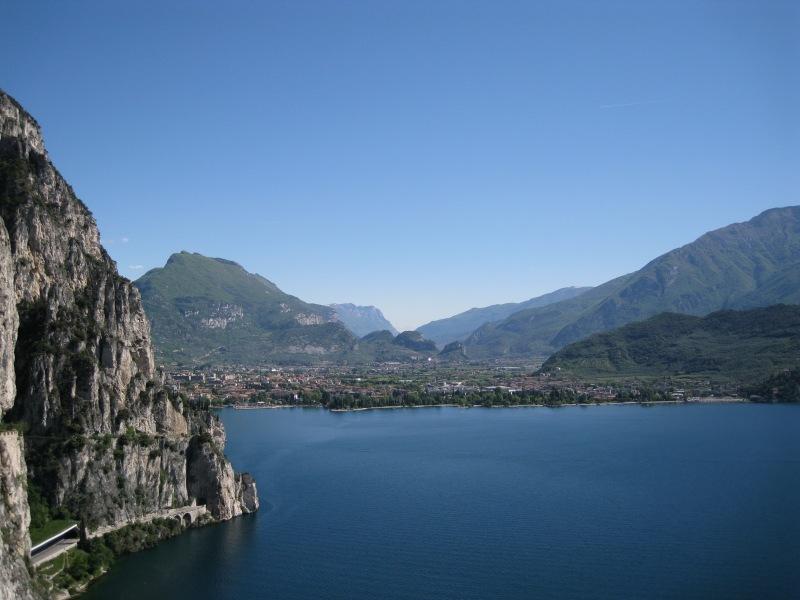 View towards Riva 2 (Lago di Garda, Italy)