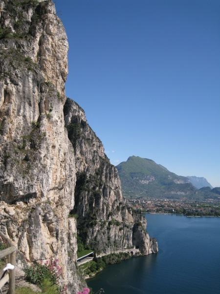 View towards Riva (Lago di Garda, Italy)