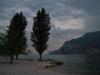 By the lake in the evening (Lago di Garda, Italy)