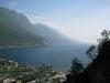 View down to Riva (Lago di Garda, Italy)