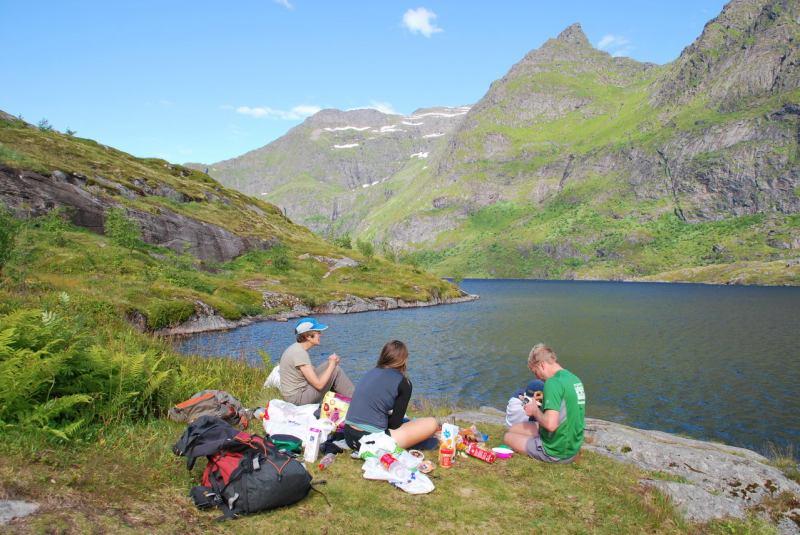 At campsite (Lofoten, Norway)