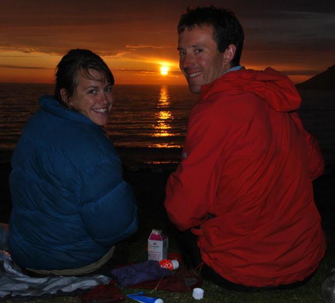 Chris + Em in midnight sun 2 (Lofoten, Norway) - crop