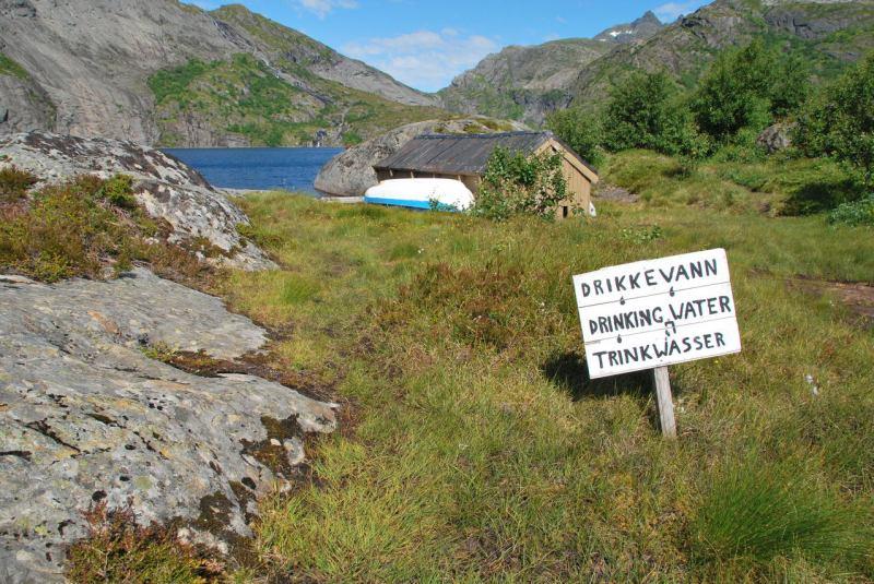 Drinking water (Lofoten, Norway)