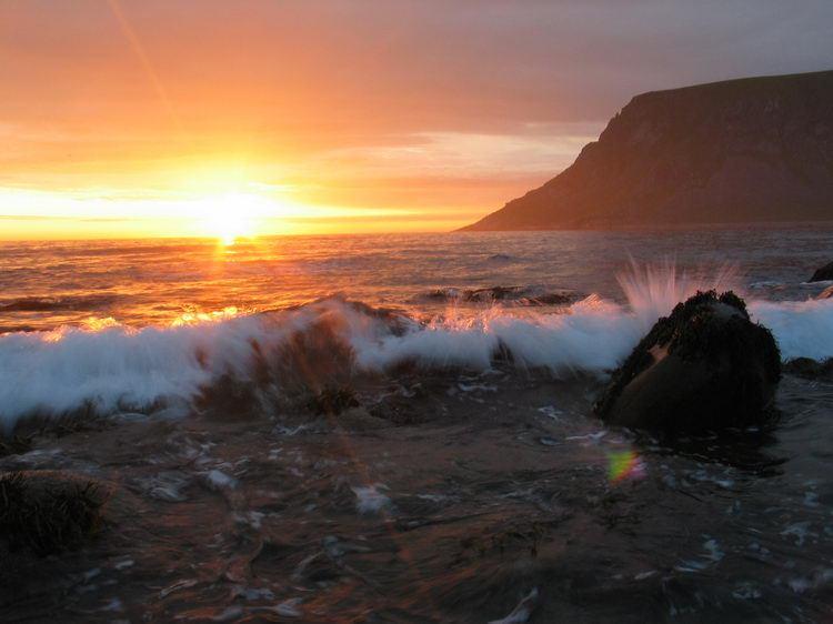 Midnight sun 2 (Lofoten, Norway)